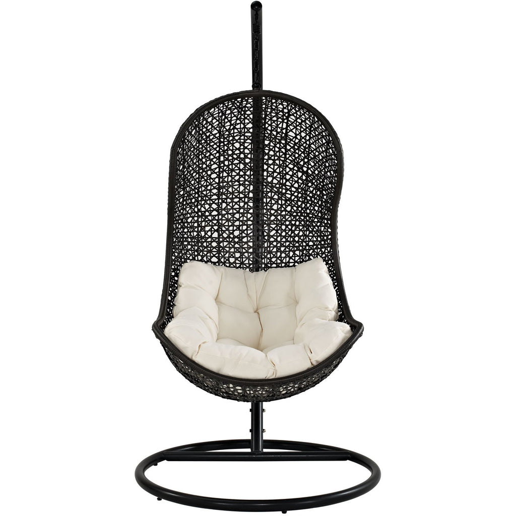 Modway Furniture Parlay Swing Outdoor Patio Lounge Chair