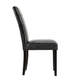 Modway Furniture Compass Modern Black Dining Side Chair , Dining Chairs - Modway Furniture, Minimal & Modern - 2