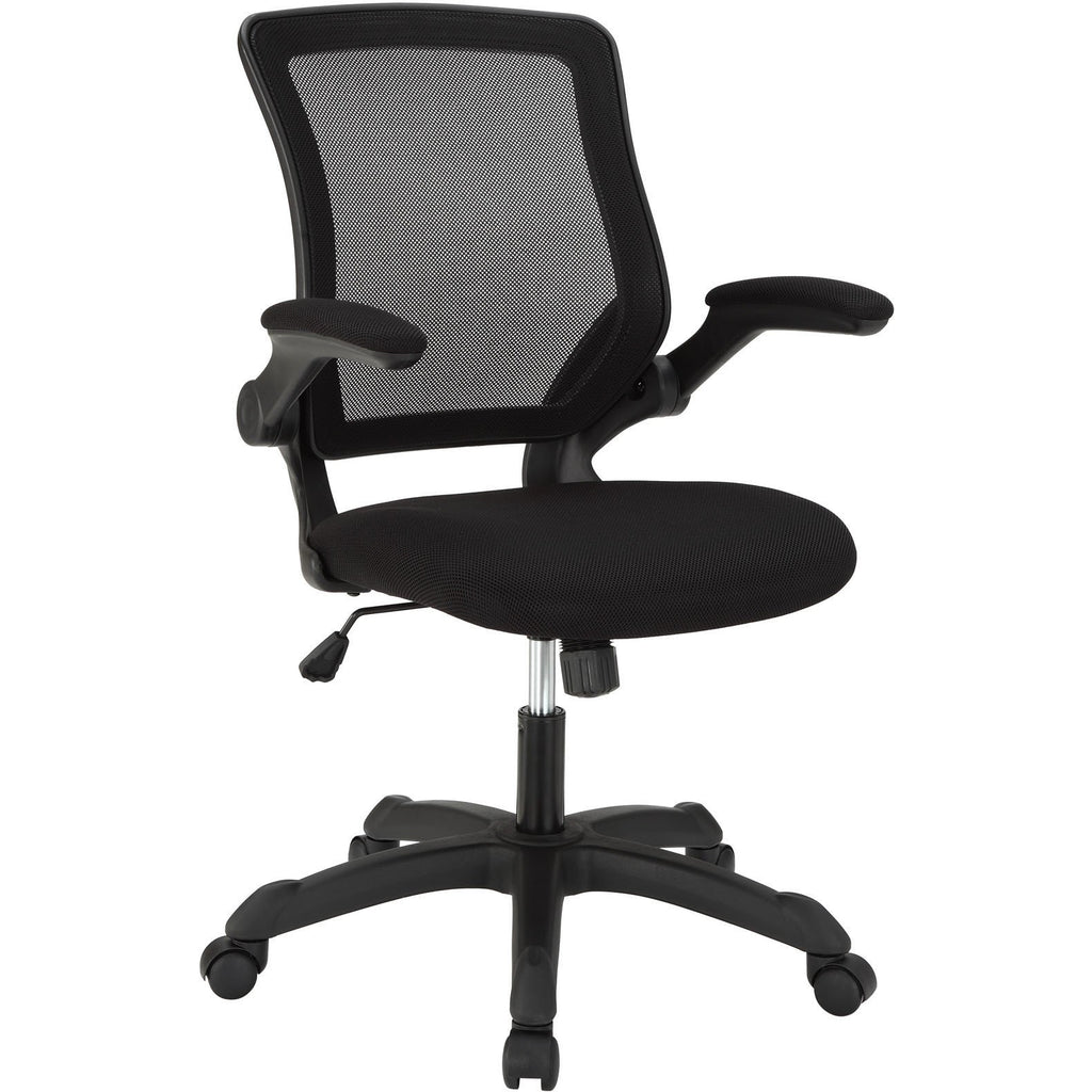 Modway Modern Veer Adjustable Computer Office Chair - Minimal & Modern - 1