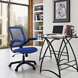 Modway Modern Veer Adjustable Computer Office Chair - Minimal & Modern - 33