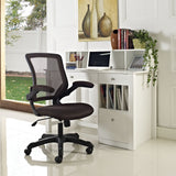 Modway Modern Veer Adjustable Computer Office Chair - Minimal & Modern - 29