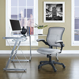Modway Modern Veer Adjustable Computer Office Chair - Minimal & Modern - 21