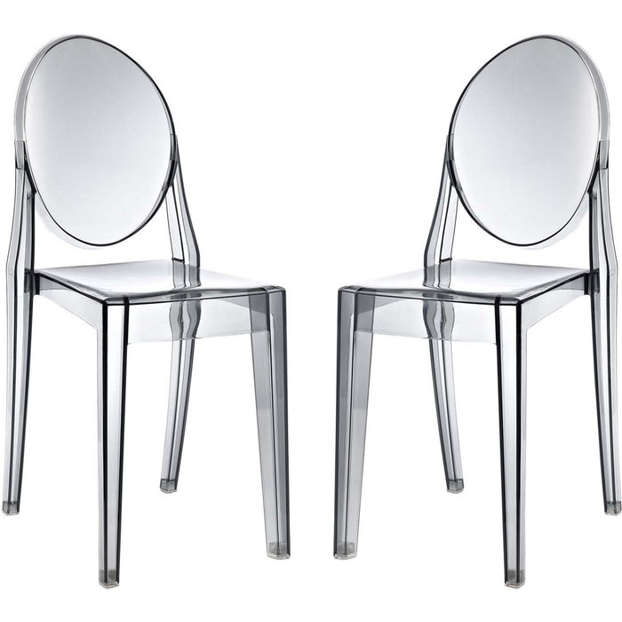 Modway Furniture Modern Casper Dining Chairs Set of 2 - EEI-906-Minimal & Modern