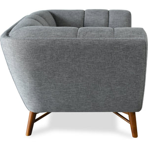 Edloe Finch Zola Mid-Century Modern Accent Chair