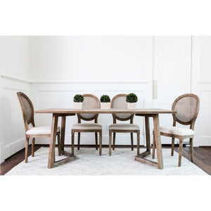 Edloe Finch Vince Mid-Century Modern Dining Table