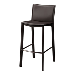 "Moe's Home Collection Panca Counter Stool 26"" Dark Brown - EH-1034-20"