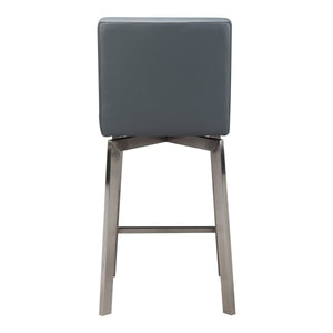 Moe's Home Collection Giro Swivel Counter Stool Grey - EH-1039-25