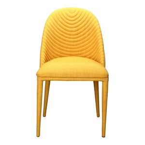 Moe's Home Collection Libby Dining Chair Yellow-Set of Two - EH-1100-09