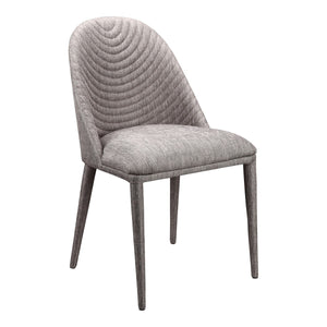 Moe's Home Collection Libby Dining Chair Grey-Set of Two - EH-1100-45