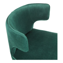 Moe's Home Collection Jennaya Dining Chair Green - EH-1103-16