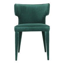 Moe's Home Collection Jennaya Dining Chair Green - EH-1103-16 - Moe's Home Collection - Dining Chairs - Minimal And Modern - 1