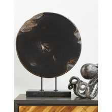 Moe's Home Collection Round Teak Wood Art Weathered Grey Small - EI-1056-15 - Moe's Home Collection - Art - Minimal And Modern - 1