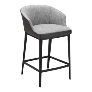 Moe's Home Collection Beckett Counter Stool Grey - EJ-1028-15