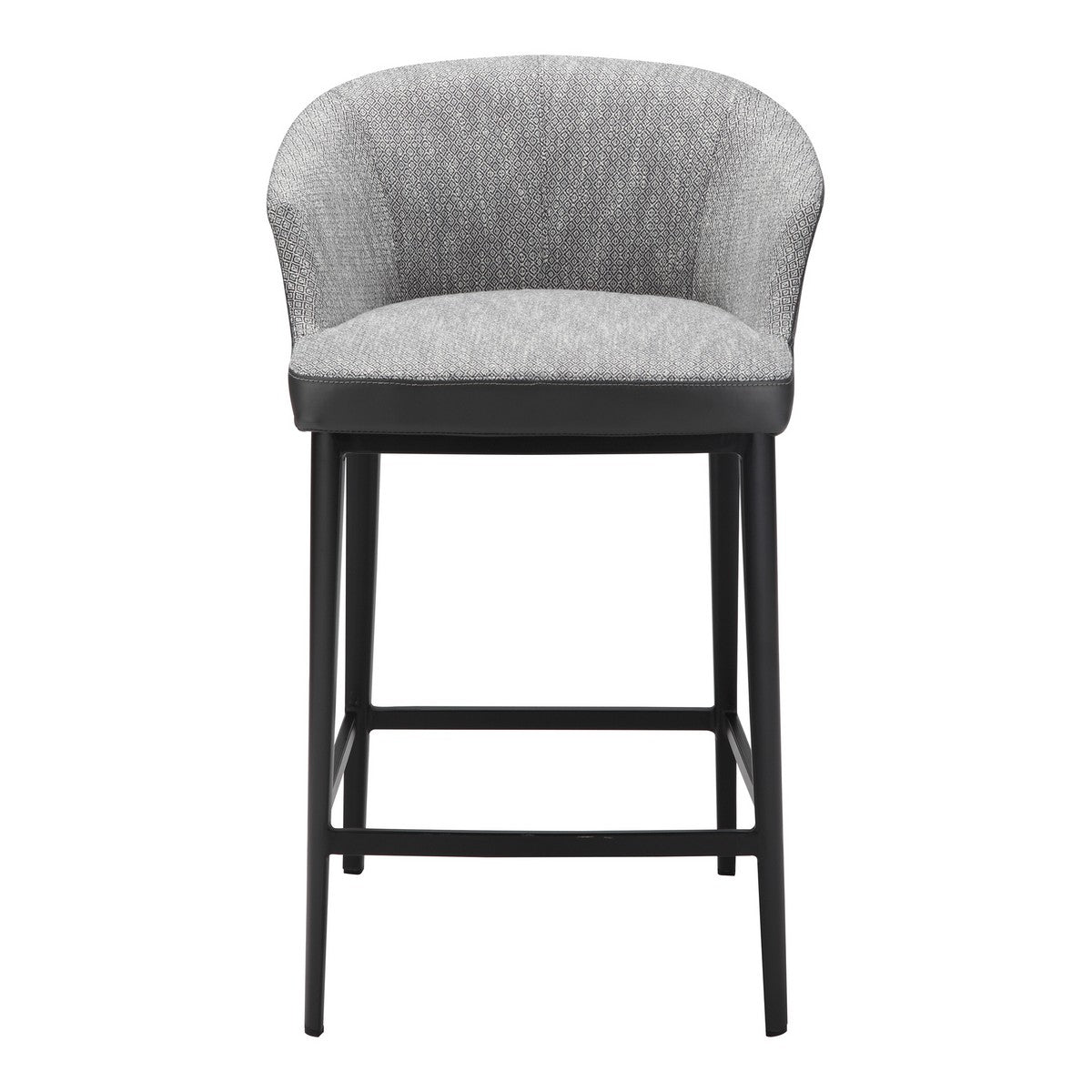 Moe's Home Collection Beckett Counter Stool Grey - EJ-1028-15 - Moe's Home Collection - Counter Stools - Minimal And Modern - 1
