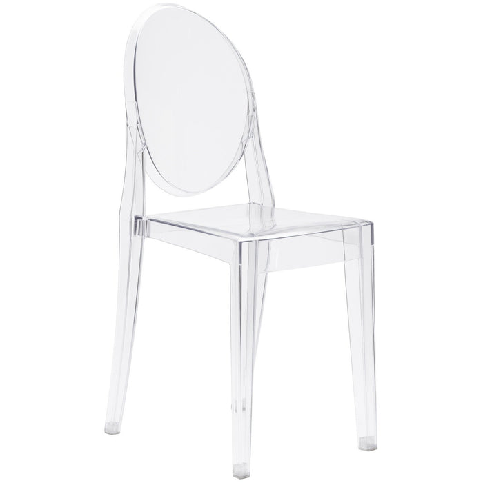 Lanna Furniture Nimmana Side Chair-Minimal & Modern
