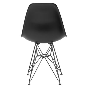 Lanna Furniture Fah Black Side Chair , Dining Chairs - Lanna Furniture, Minimal & Modern - 9