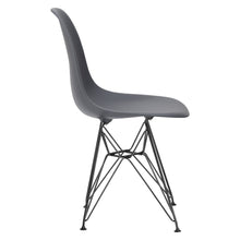 Lanna Furniture Fah Black Side Chair , Dining Chairs - Lanna Furniture, Minimal & Modern - 16