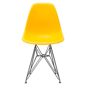 Lanna Furniture Fah Black Side Chair Black / Yellow, Dining Chairs - Lanna Furniture, Minimal & Modern - 34