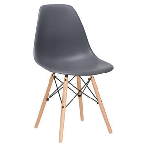 Edgemod Modern Vortex Side Chair (Set of 4) EM-105-NAT-Minimal & Modern