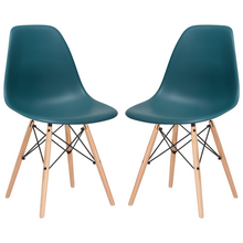 Lanna Furniture Finne Side Chair (Set of 2)-Minimal & Modern