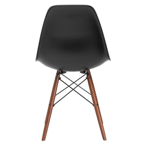 Lanna Furniture Finne Side Chair Walnut Legs (Set of 4) , Dining Chairs - Lanna Furniture, Minimal & Modern - 9