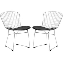 Edgemod Modern Morph Side Chair (Set of 2) Black, Dining Chairs - Edgemod Furniture, Minimal & Modern - 1