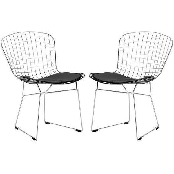 Edgemod Modern Morph Side Chair (Set of 2) EM-108-Minimal & Modern