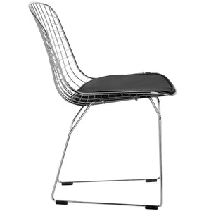 Lanna Furniture Wanz Side Chair , Dining Chairs - Lanna Furniture, Minimal & Modern - 3