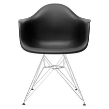 Edgemod Modern Padget Arm Chair Chrome Base (Set of 2)-Minimal & Modern