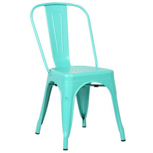Edgemod Modern Trattoria Side Chair (Set of 2) Aqua, Dining Chairs - Edgemod Furniture, Minimal & Modern - 3