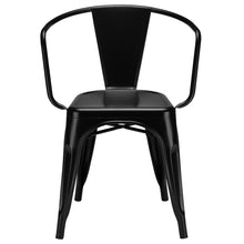 Lanna Furniture Suthep Arm Chair (Set of 2)-Minimal & Modern