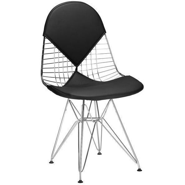 Edgemod Modern Kini Dining Chair Black, Dining Chairs - Edgemod Furniture, Minimal & Modern - 1