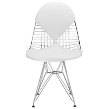 Lanna Furniture Mirror Dining Chair-Minimal & Modern