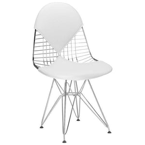 Edgemod Modern Kini Dining Chair White, Dining Chairs - Edgemod Furniture, Minimal & Modern - 2