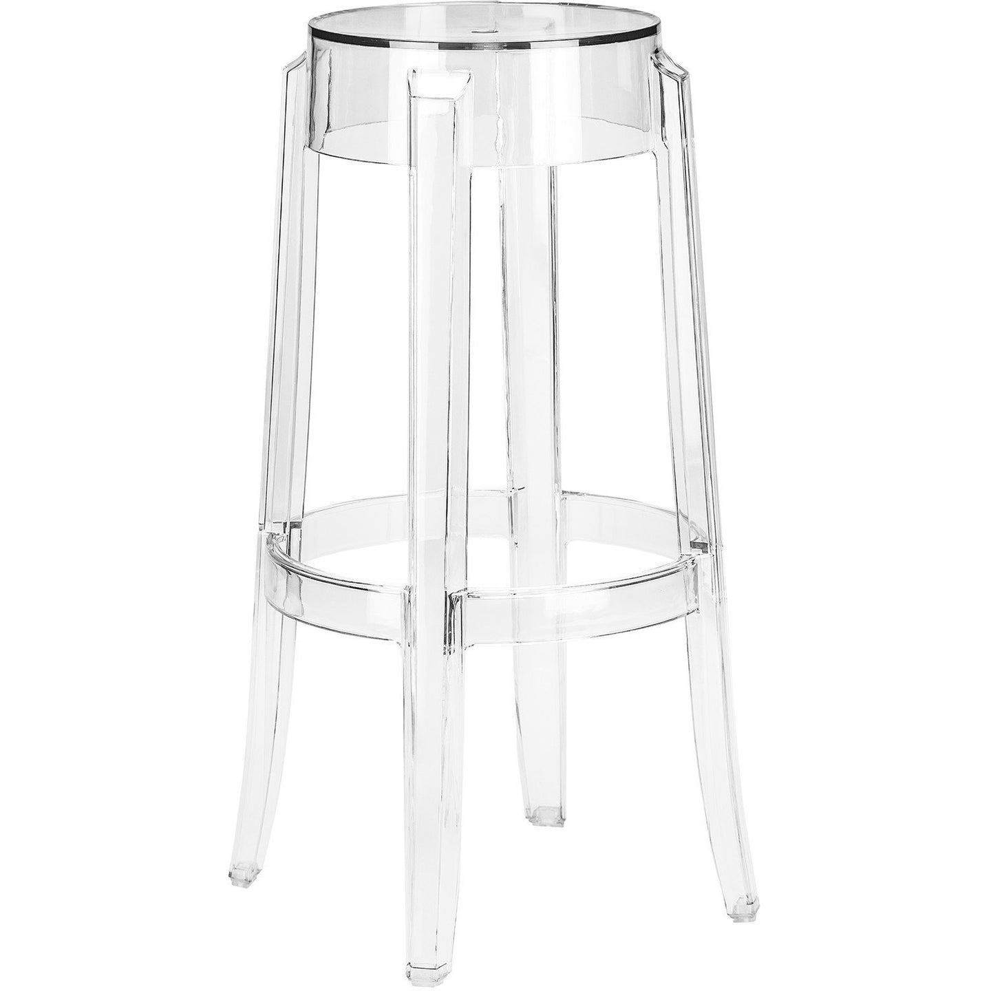 Lanna Furniture Pang Bar Stool-Minimal & Modern