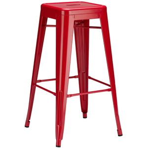 Lanna Furniture Trattoria Bar Stool-Minimal & Modern