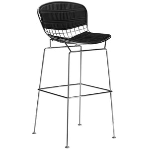 Lanna Furniture Pai Bar Stool-Minimal & Modern