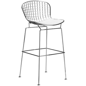 Lanna Furniture Pai Bar Stool White, Bar Stools - Lanna Furniture, Minimal & Modern - 8
