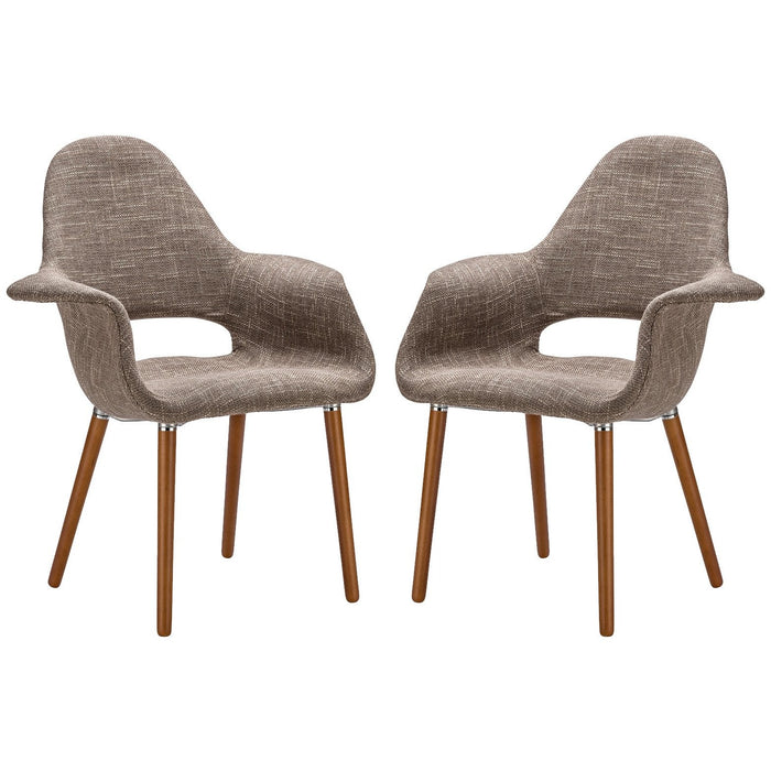 Lanna Furniture Kamala Dining Chair (Set of 2)-Minimal & Modern
