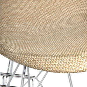 Lanna Furniture Woven Valiza Dining Chair-Minimal & Modern