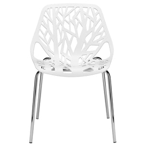 Lanna Furniture Colonia Dining Side Chair (Set of 2)-Minimal & Modern