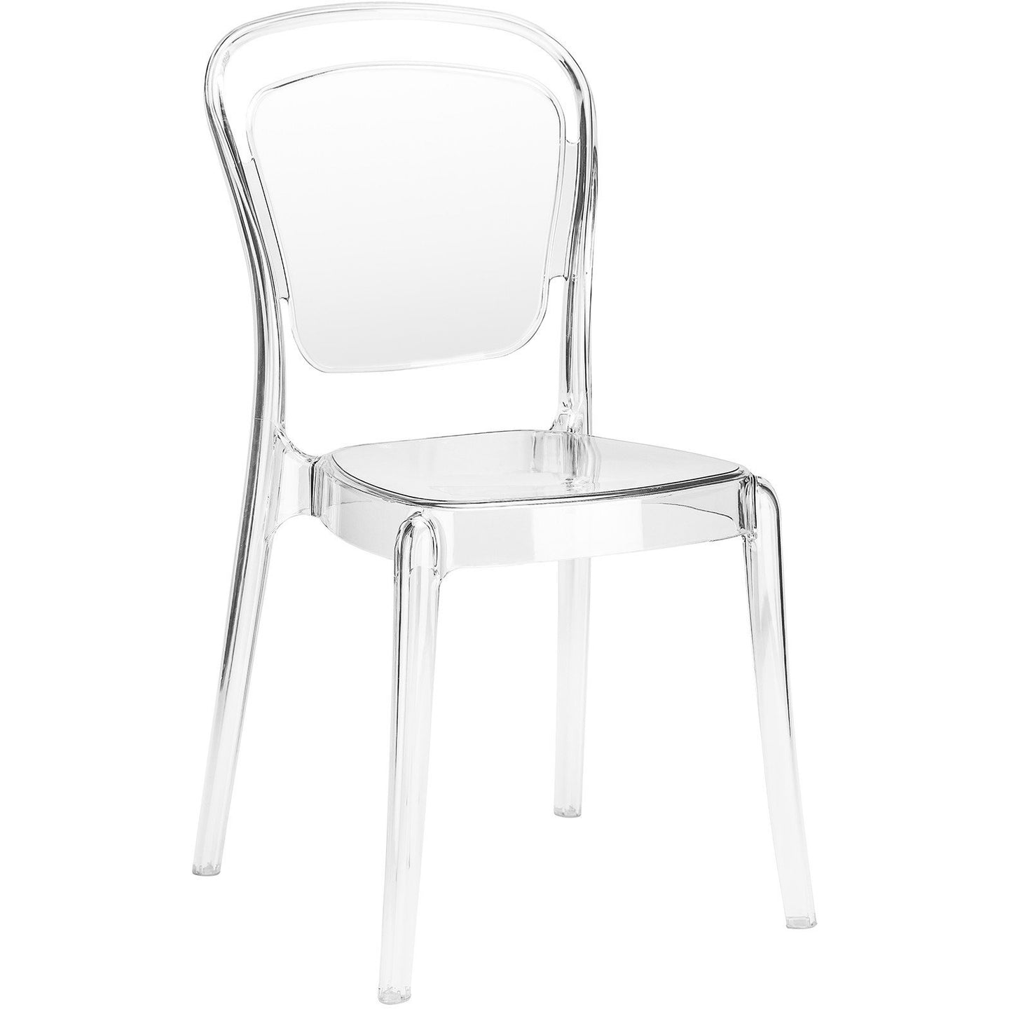 Lanna Furniture Palmira Dining Side Chair (Set of 2)-Minimal & Modern
