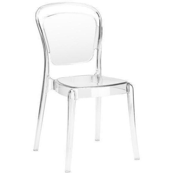 Edgemod Modern Lucent Dining Side Chair (Set of 2)-Minimal & Modern