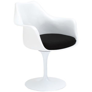 Edgemod Modern Daisy Arm Chair Black, Dining Chairs - Edgemod Furniture, Minimal & Modern - 1