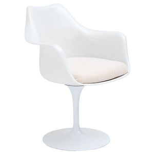 Edgemod Modern Daisy Arm Chair White, Dining Chairs - Edgemod Furniture, Minimal & Modern - 7
