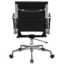 Lanna Furniture Estey Mid Back Office Chair with Italian Leather , Office Chairs - Lanna Furniture, Minimal & Modern - 5
