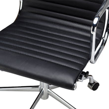 Lanna Furniture Estey Mid Back Office Chair with Italian Leather , Office Chairs - Lanna Furniture, Minimal & Modern - 6