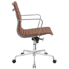 Lanna Furniture Estey Mid Back Office Chair with Italian Leather , Office Chairs - Lanna Furniture, Minimal & Modern - 14