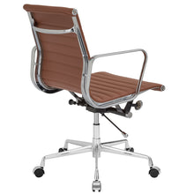 Lanna Furniture Estey Mid Back Office Chair with Italian Leather , Office Chairs - Lanna Furniture, Minimal & Modern - 15