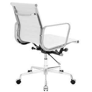 Lanna Furniture Estey Mid Back Office Chair with Italian Leather , Office Chairs - Lanna Furniture, Minimal & Modern - 10